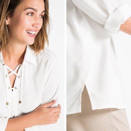 5c8807114b1d Jsou pěknou alternativou ke klasickým košilím a perfektně podtrhávají  maskulinní uniformní ...