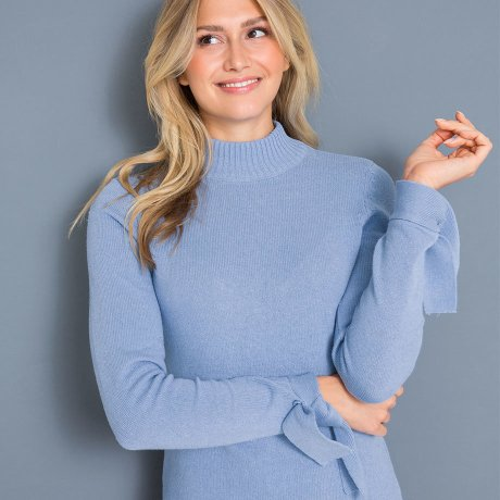 Žena - Oblečení - Pulovry   mikiny. Jarní pletená móda 01319c11c0