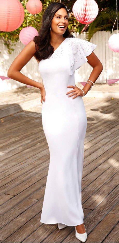 Módu pro nevěstu a svatební šaty najdete u bonprix e31c318ab2
