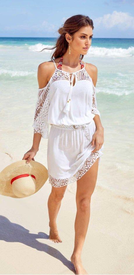 fe1fb10d15b3 Skvělé plážové šaty obejdnáte snadno a rychle u bonprix