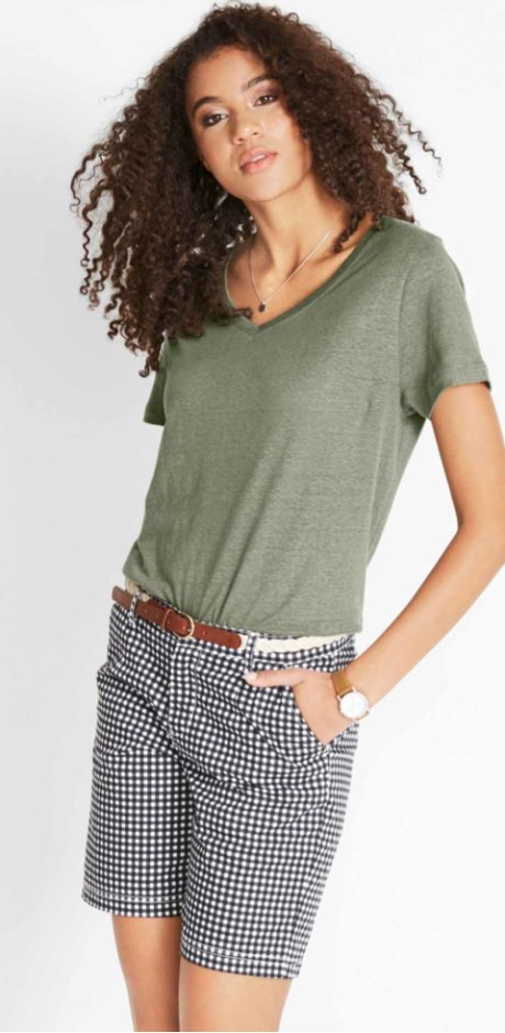 6113b164c7 Módní dámská trička nakoupíte za výhodné ceny u bonprix