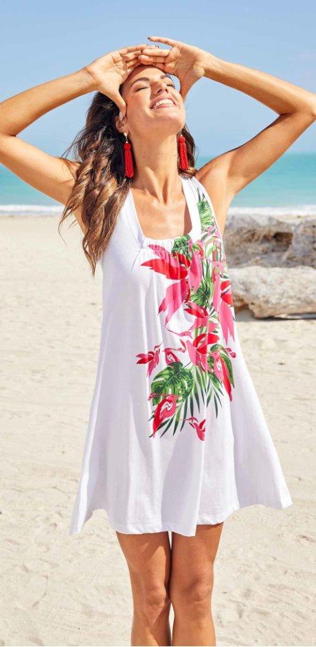 ded4c00d83 Skvělé plážové šaty obejdnáte snadno a rychle u bonprix