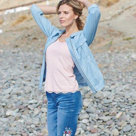 06314ab12285 Žena - Oblečení - Poradna - Svět módních stylů - Ležérní džínová móda