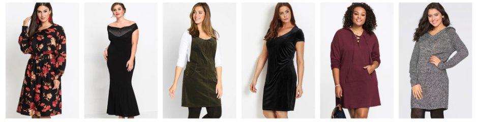 af90cf0fd55 Žena - Velké velikosti - Oblečení - Šaty - Úpletové