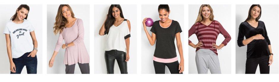 Dámské halenky a trička nakoupíte výhodně u bonprix b10a0bf11f