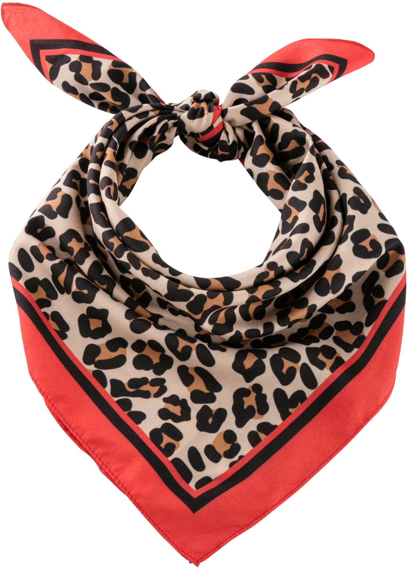 Šátek na krk - Černá