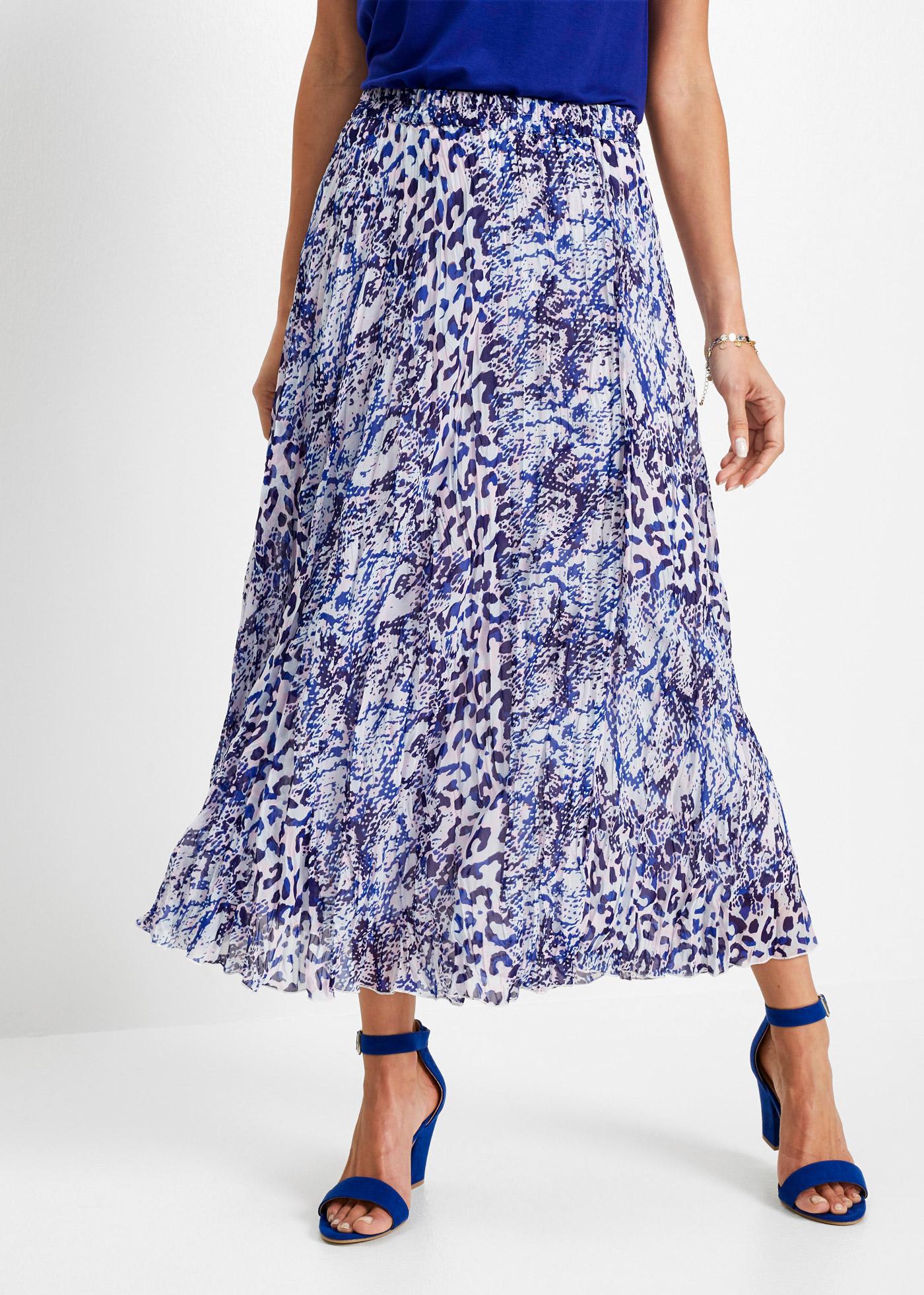 Dlouhá sukně - Modrá