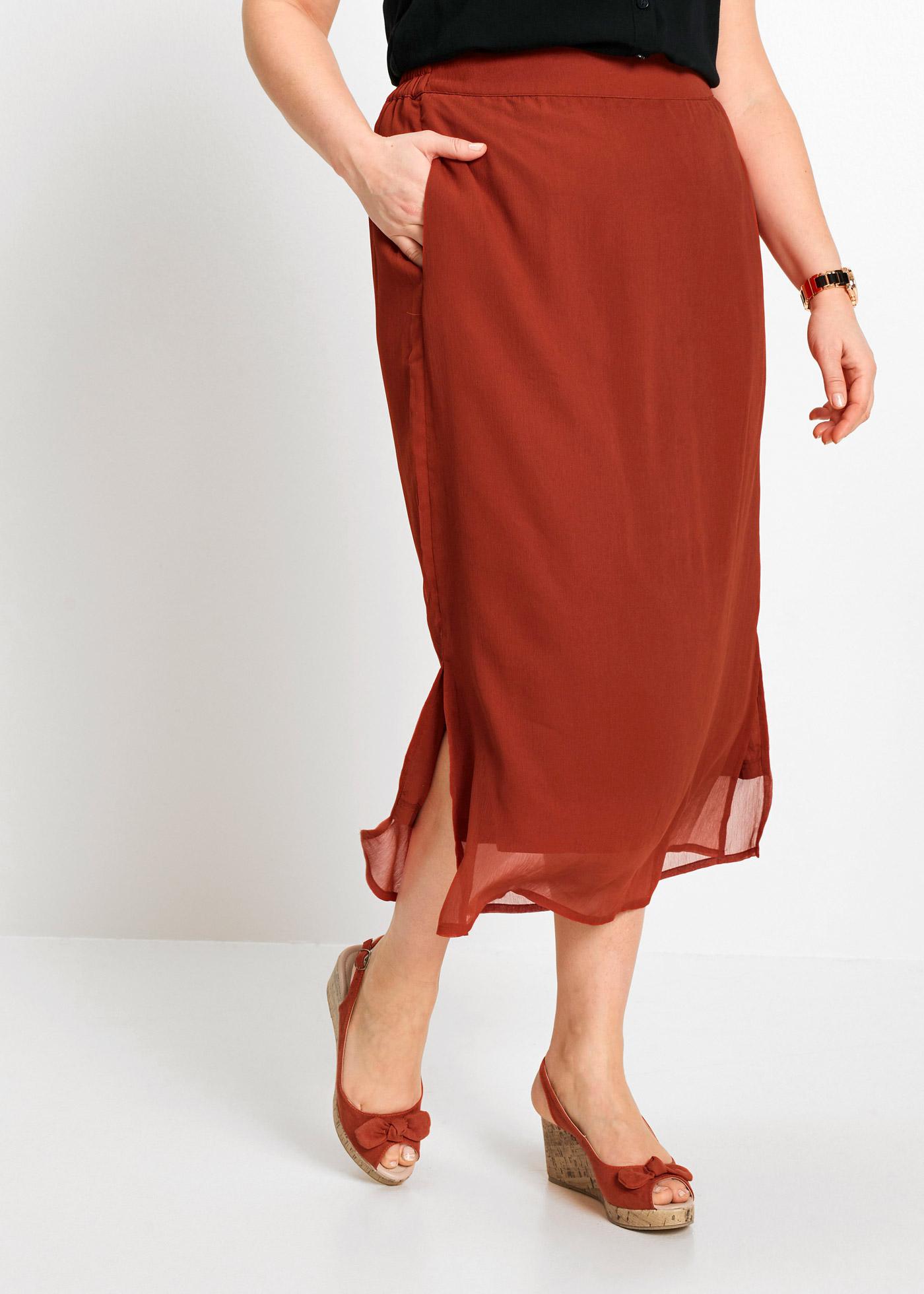 Dlouhá sukně - Červená