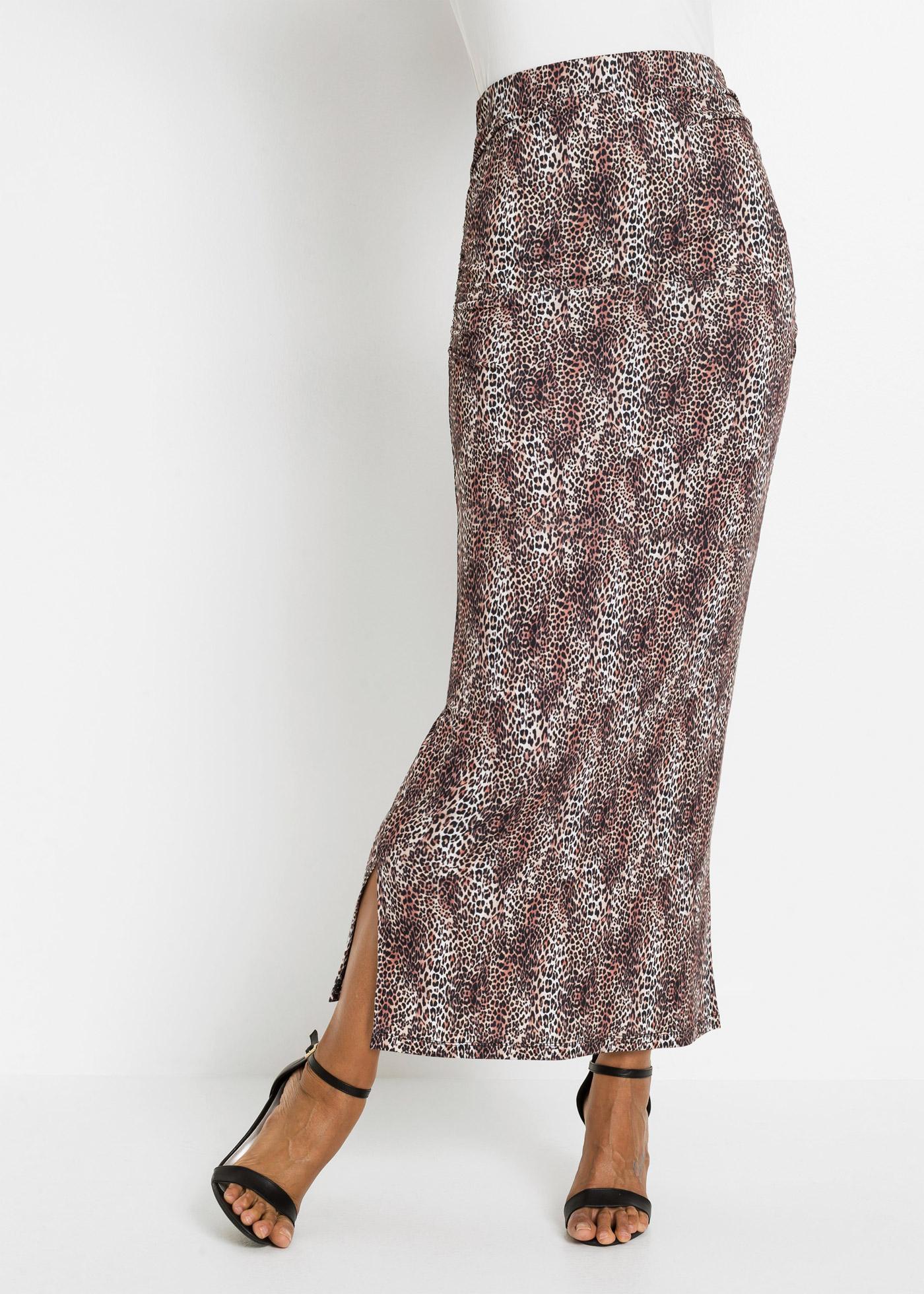 Dlouhá sukně - Hnědá