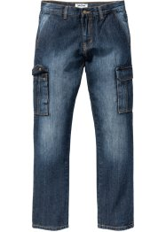 Kargo džíny Straight Regular Fit, John Baner JEANSWEAR