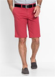 Chino bermudy s minivzorem Slim Fit, bpc selection