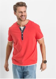 Henley triko Regular Fit, John Baner JEANSWEAR