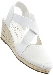Espadrilky na klínku, bpc bonprix collection