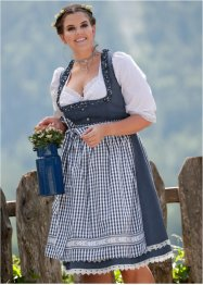 Dirndl se zástěrou po kolena, bpc bonprix collection