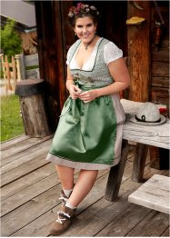 Dirndl se zástěrou pod kolena, bpc bonprix collection
