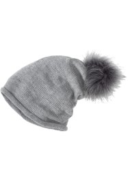 Čepice Beanie s bambulkou, bpc bonprix collection