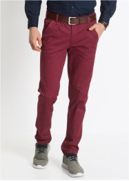 Strečové chino kalhoty Slim Fit Straight, bpc bonprix collection