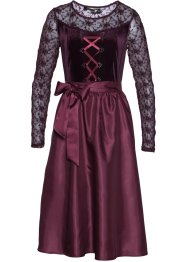 Sametový dirndl, bpc selection premium