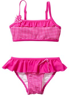 Bikiny, bpc bonprix collection, pink kostkovaná