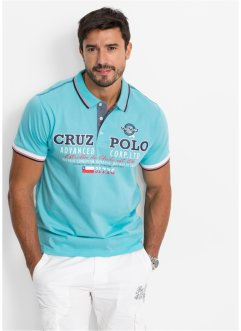 Tričko pólo Regular Fit, bpc bonprix collection, aqua
