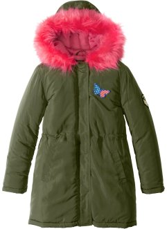 Parka s kožešinou na kapuci, bpc bonprix collection