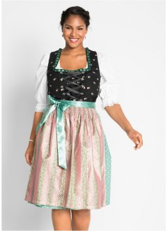Dirndl s lesklou zástěrou, bpc bonprix collection