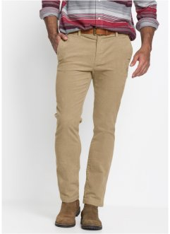 Manšestrové chino kalhoty Regular Fit, bpc bonprix collection