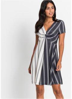 Úpletové šaty s pruhovanou sukní. RAINBOW. Kč 549. Vzor-blocking    382 erzejov eacute  ... 1430e774088