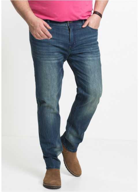 cf31438b887 Pánské džíny ve velkých velikostech nadjeté u bonprix