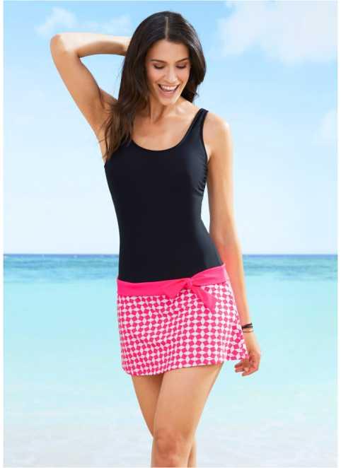 a4376e6e183 Skvělé plavkové šaty najdete v online obchodě bonprix