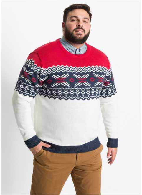 Pánské pulovry ve velkých velikostech online u bonrpix d46e3b5f8c