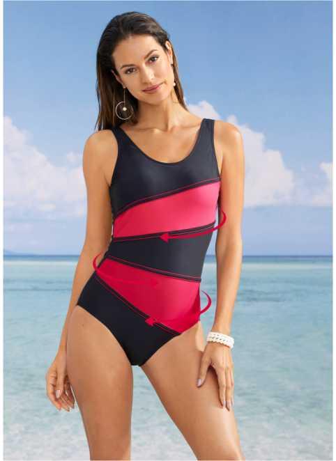 Tvarující plavky v široké nabídce koupíte u bonprix 5382e351a6