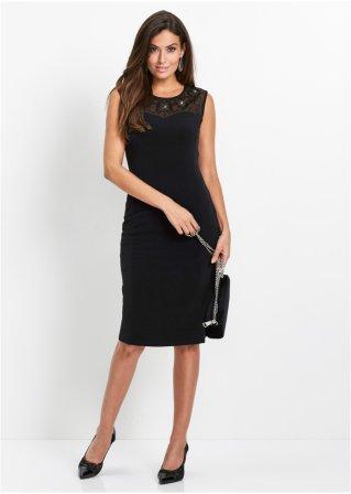 dc4d08f2716 Šaty s kamínky Swarovski® černá - bpc selection premium objednat ...