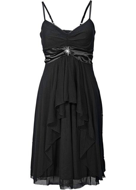 Večerní šaty černá - BODYFLIRT - bonprix.cz 5a70c59251f