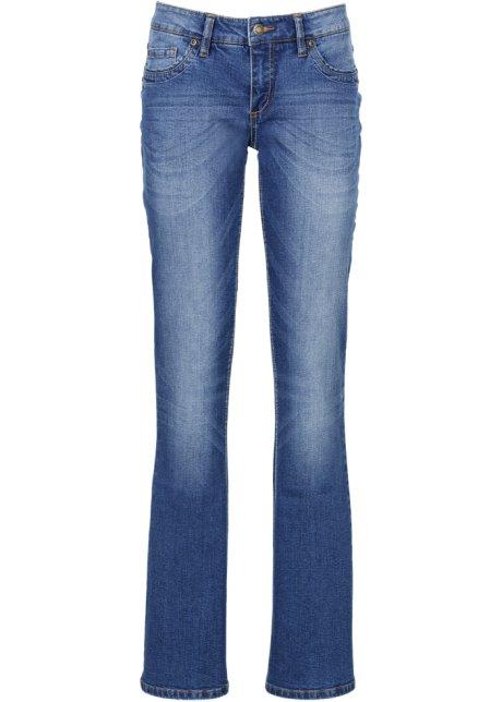 Strečové džíny s páskem BOOTCUT modrá - John Baner JEANSWEAR koupit ... 1c0014e4dd