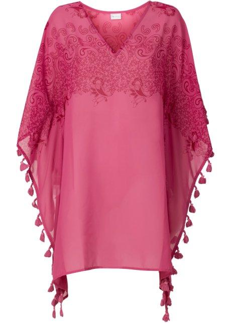 Plážová tunika pink - bpc selection objednat online - bonprix.cz 924c339b4b