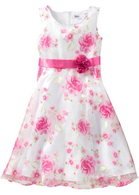 3a99e842836 Slavnostní šaty bílo-pink XXL - bpc bonprix collection koupit online ...