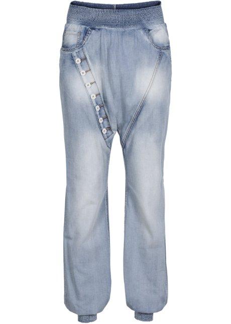 Baggy džíny modrá bleached - RAINBOW - bonprix.cz 7ea4c73a37