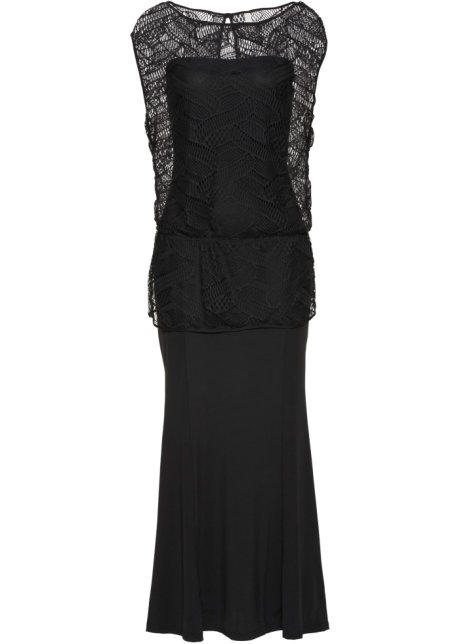 Šaty černá - BODYFLIRT boutique objednat online - bonprix.cz 91560f219d