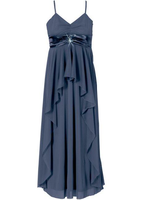 Dlouhé šaty tmavě modrá - BODYFLIRT objednat online - bonprix.cz b8f0b3eb0c