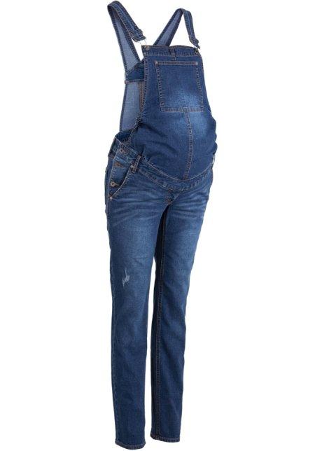 Těhotenské džíny s laclem 429b3e6704