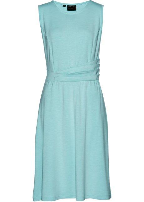 Úpletové šaty aqua pastelový melír - bpc selection - bonprix.cz 0c448df262