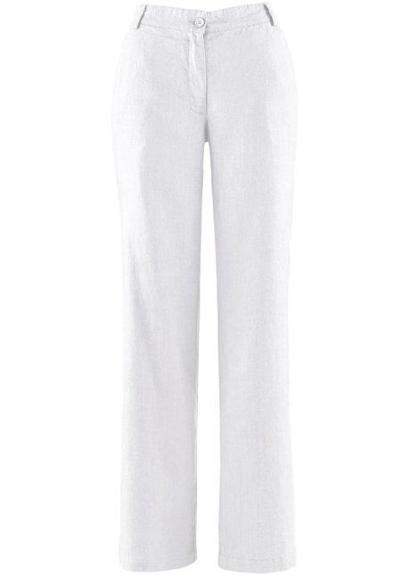 Lněné kalhoty 5b0e6f3ff0