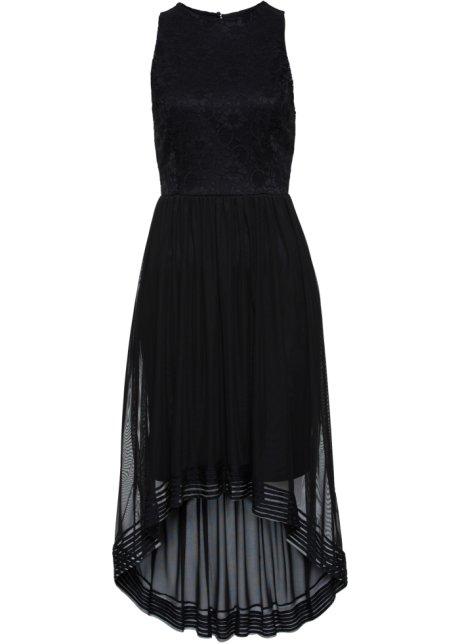 Šaty s krajkou černá - BODYFLIRT boutique objednat online - bonprix.cz 3116d772a4