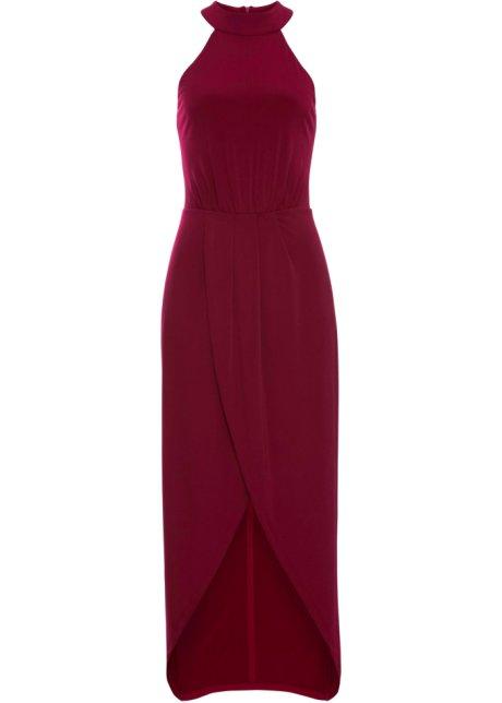 627ed44051a2 Dlouhé šaty tmavě červená - Žena - BODYFLIRT boutique - bonprix.cz