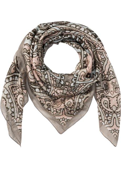 e25388d3ba5 Hedvábný šátek růžová - bpc bonprix collection - bonprix.cz