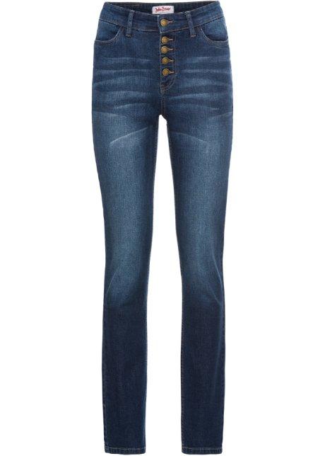 8deac42519f Měkké džíny SLIM tmavě modrá - John Baner JEANSWEAR objednat online ...