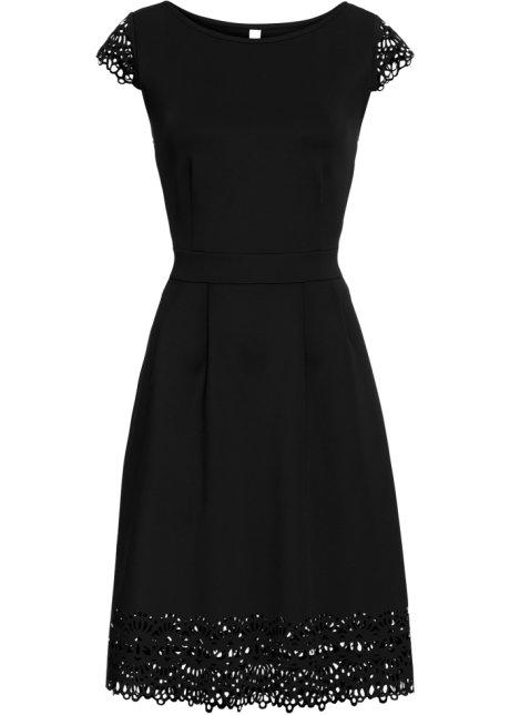 6663802cb1 Šaty s průstřihy černá - Žena - BODYFLIRT boutique - bonprix.cz