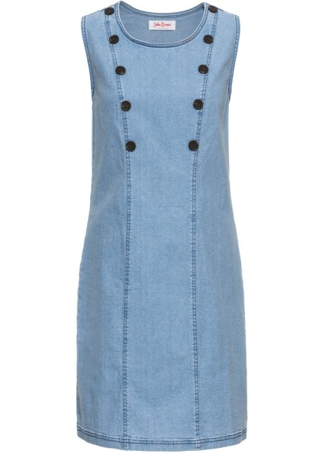 55973643661 Strečové džínové šaty světle modrá - John Baner JEANSWEAR objednat ...