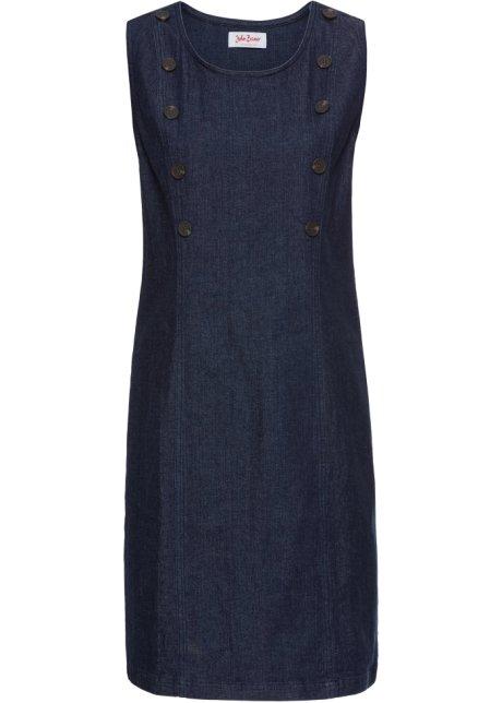 bd2f4b361a8 Strečové džínové šaty tmavě modrá - John Baner JEANSWEAR - bonprix.cz
